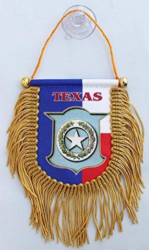 Flag Texas Fringed (Texas (Seal) - 3