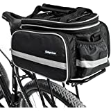 Campstoor Mountain Bike Bag 600D Multi-Functional Oxford Waterproof Bicycle Bag Cycling Rear Seat Trunk Bag Panniers Bicycle Accessories With Raincoat