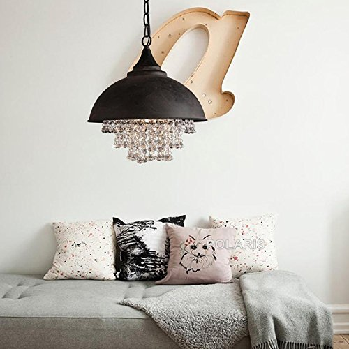 Vintage Lamp Loft Chandelier Lighting Modern Crystal Pendant Hanging Lights for Home Hotel Restaurant Decoration