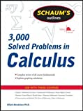 img - for Schaum's 3,000 Solved Problems in Calculus (Schaum's Outlines) book / textbook / text book