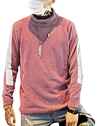 RDHOPE-Men Relaxed-Fit Knit Classic-Fit Fall V-Neck Sweater Open-Front