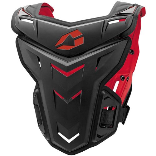 EVS F1 Adult Roost Guard MotoX/Off-Road/Dirt Bike Motorcycle Body Armor - Black / Small/Medium