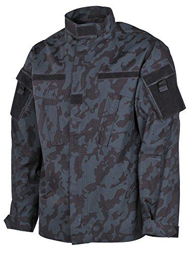 USA chaqueta de campo, ACU, Acanalado - Nightcamo, XL Night Camo