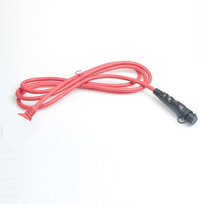 Motor de precalentamiento VVKB Titan P2, 230 V, 1500 W, con 1,5 m de cable reforzado y 2,5 m de cables de conexión y 65 grados S-8000: Amazon.es: Coche y ...