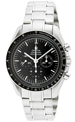 Omega Men's 3570.50.00 Speedmaster Professional Watch with Stainless Steel ()