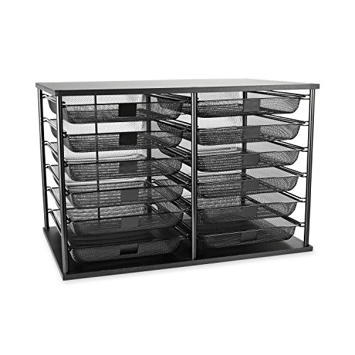 Rubbermaid 1735746 12-Compartment (12 Compartment Storage)