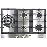 Cosmo 950SLTX-E 34' Gas Cooktop with 5 Burners , Stainless Steel