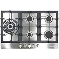 Cosmo 950SLTX-E 34 Gas Cooktop with 5 Burners, Stainless Steel