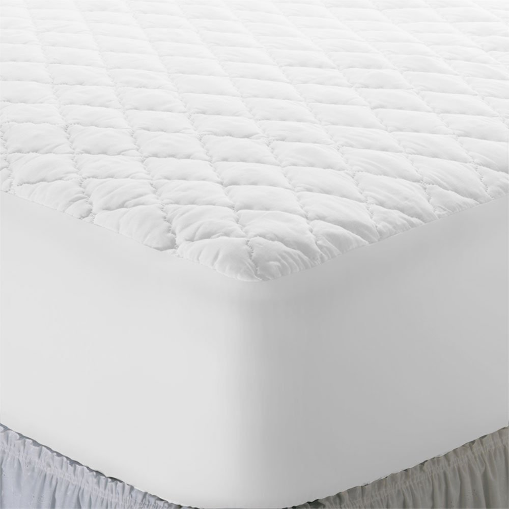 Futon Mattress Cover Queen Size 100-Percent Polyester Mattress Pad That Protects Against Dust, Sweat, and Stains That Come from Everyday Use Hypoallergenic Polyester Fiber It Provides Subtle Comfort