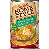 chicken and rice soup - Campbell's Homestyle Healthy Request Soup, Savory Chicken with Brown Rice, 18.6 Ounce