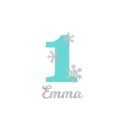 first birthday iron on vinyl transfer number with snowflakes iron on letters for kids
