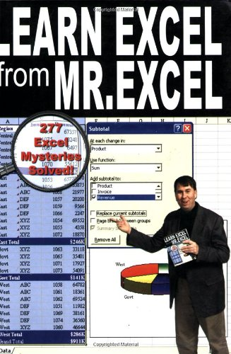 Learn Excel from Mr. Excel: 277 Excel Mysteries Solved