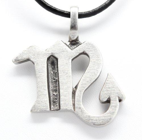 - Pewter Scorpio The Scorpion Zodiac (October 24-November 22) Astrology Pendant on Leather Necklace