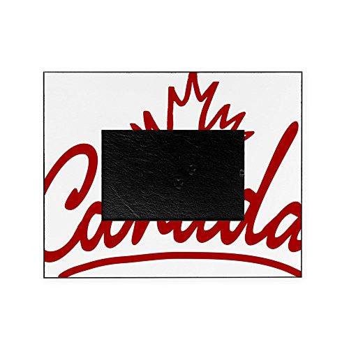 CafePress - Canada Leaf Script W - Decorative 8x10 Picture - Canada Frames