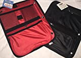 Staples Binder Pencil Pouch 3 Ring Binder (Colors May Vary Red or Black & Red)