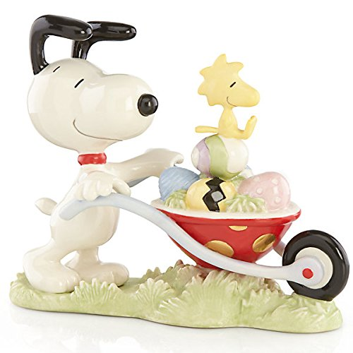 SNOOPY's Easter Egg Delivery Figurine by Lenox