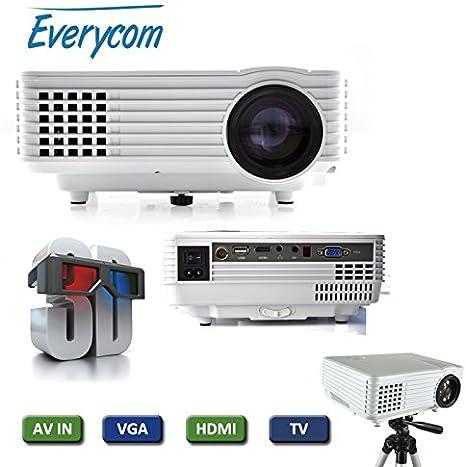 TV 1920 x vídeo 1080p hdmi Pico proyector VGA full hd proyector ...