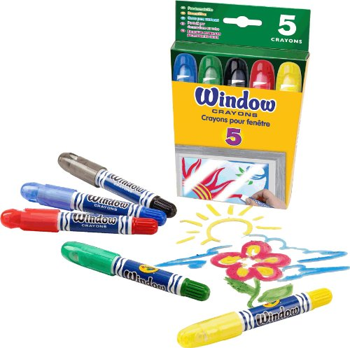 Crayola ceras para ventanas 52 9765 for Aerografo crayola amazon