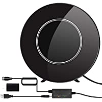 Digital HD TV Antenna Indoor, Kaboll 2020 Newest High Definition Television Antennas 200 Miles Long Range Reception with…