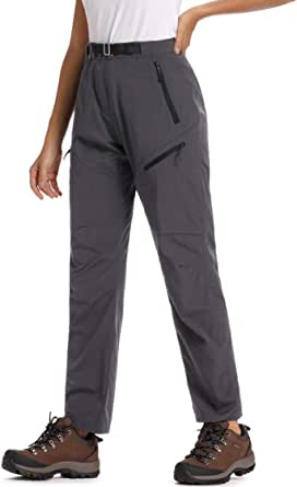 Jessie Kidden Women's Outdoor Quick Dry Cargo Pants Convertible Hiking Camping Fishing Zip Off Stretch Trousers #5818