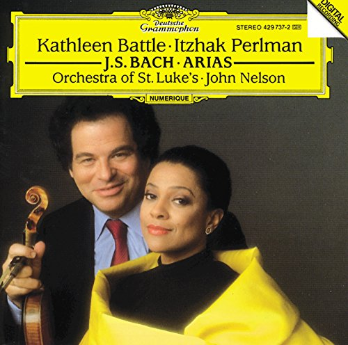 J.S. Bach: Arias for Soprano and (Nelson Violin)