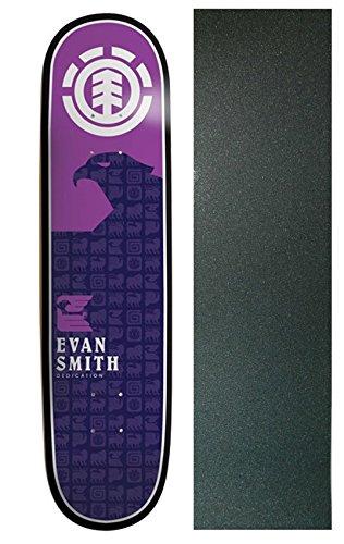 Element Evan Smith Thriftwood Chromatics Twig Skateboard Deck - 7.6