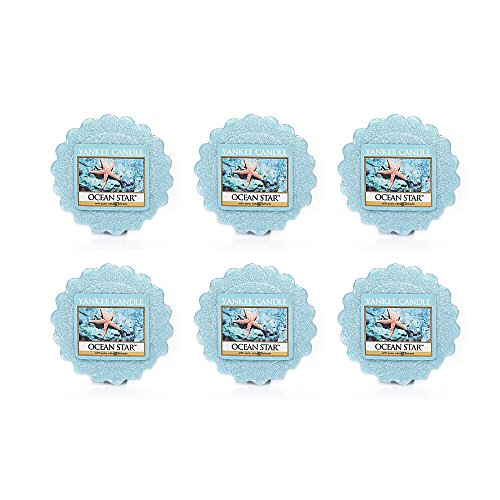 Yankee Candle Lot of 6 Ocean Star Tarts Wax Melts