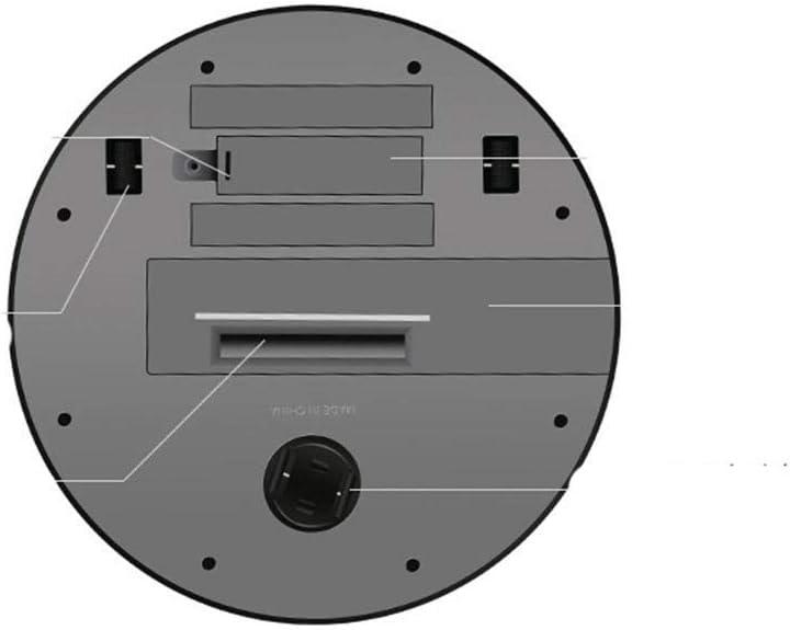 ZHB Intelligent Robot De Balayage Aspirateur Intelligent Domestique Paresseux Rechargeable-Noir Blanc