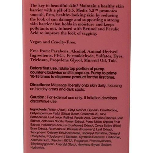 Medix with Ferulic Treatment. and Damaged Anti-Aging Cream Black Aloe And
