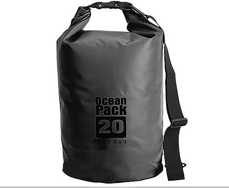 Ocean Pack impermeable Roll driften Pack bolsa de funda Dry Bag, negro: Amazon.es: Deportes y aire libre