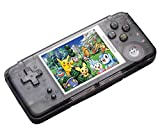 Handheld Game Console ,16GB 3 Inch HD Screen 3000 Classic Game,Support Video & Music Playing , Birthday and Holiday Best Gift for Kids (Black)
