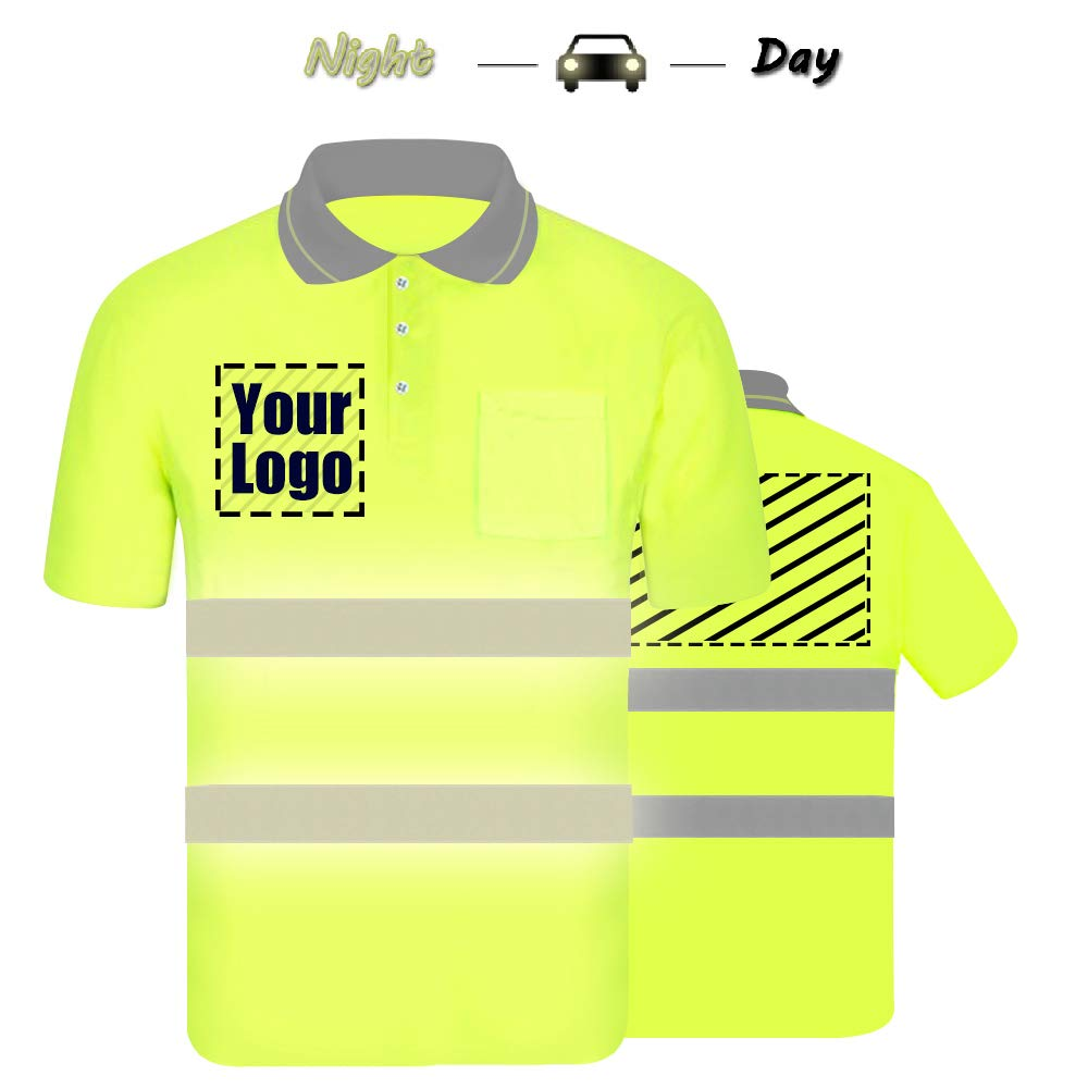 Safety Polo Shirts With Logo