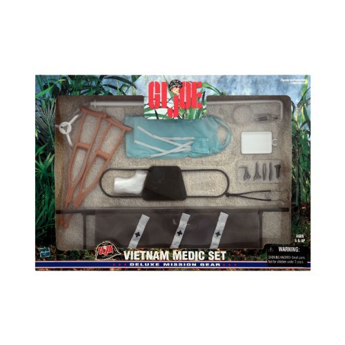 Gear Joe Gi Mission (GI Joe Vietnam Medic Set Deluxe Mission Gear)