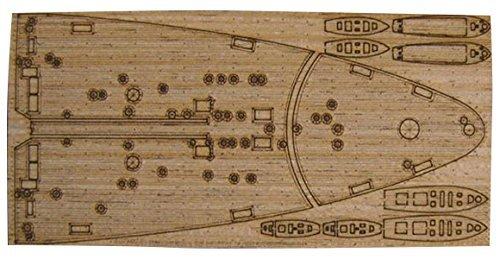 1/700 艦船用木製甲板 伊海軍 戦艦 ヴィットリオヴェネト1940用 (PIT用) AW2058 by Artworx model