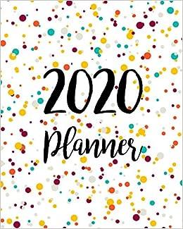 December 2020 January 2020 Daily Calendar 2020 Planner: Daily Weekly Monthly Calendar Planner | 12 Months