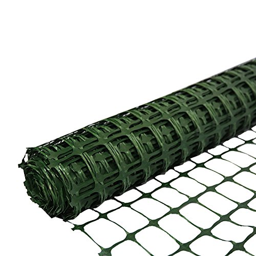 (Abba Patio Guardian Safety Netting Fence, 4 x 100 Ft, Green)