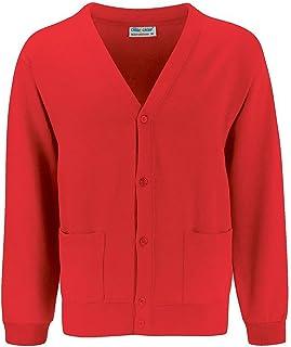 Blue Max Kids School Uniform Winterwear Long Sleeve Buttoned Cardigan Sweater