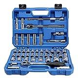 Valianto 12.5mm Series Hex Socket Wrench Kit, 46 Pcs