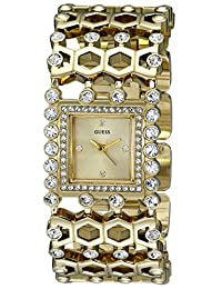 Guess Women's U0574L2 Gold Stainless-Steel Quartz Watch