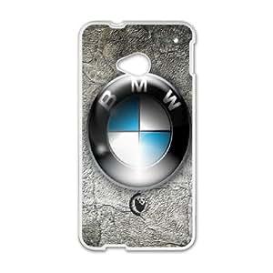 (NNLU) HTC One M7 Cell Phone Case White BMW
