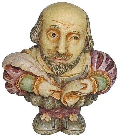 Pot Bellys Harmony Kingdom - Harmony Ball William Shakespeare (Gifts Harmony Ball Pot Bellys)