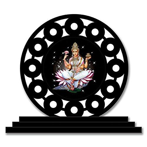 Ganga Maa Car Dashboard Idols Figurine Showpiece , by Vprint