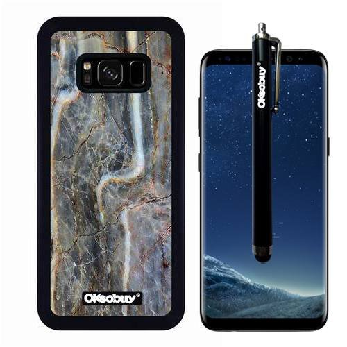 Lavar Cream (Galaxy S8 Case, Grey Water Mark Marble Texture Case, OkSoBuy Ultra Thin Soft Silicone Case for Samsung Galaxy S8 - Grey Water Mark Marble Texture)