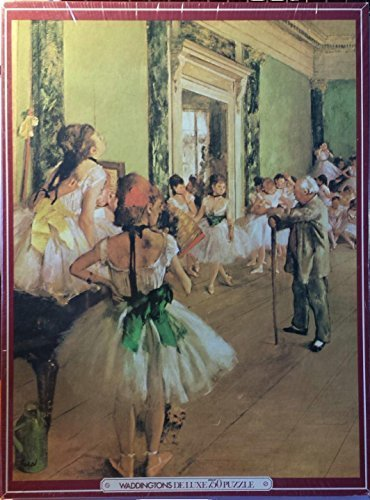 Waddingtons Deluxe 750 Piece Jigsaw Puzzle, Fine Art, Dancing Lesson by Degas
