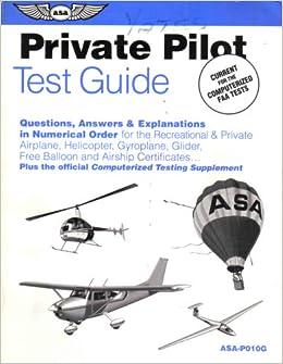 private pilot study guide pdf