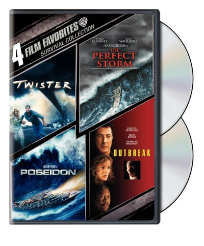 (4 Film Favorites: Survival (Outbreak, The Perfect Storm, Poseidon, Twister))