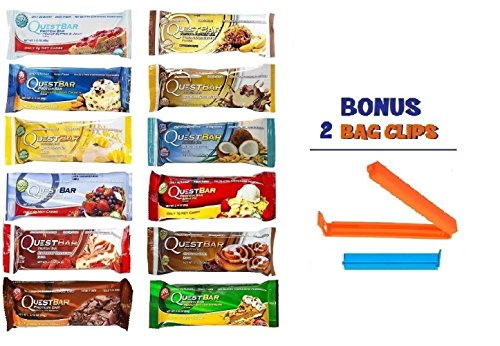 quest bar fruit and nut - 9