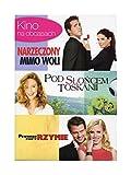 """Kino na obcasach vol. 3: Narzeczony mimo woli / Pod s?'o?""""cem Toskanii / Pewnego razu w Rzymie [Box] [3DVD] (English audio)"""