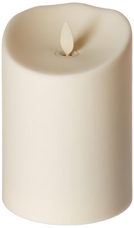 luminara outdoor candles. Luminara Flameless Outdoor Pillar Candle, Unscented Ivory 5 In. Candles