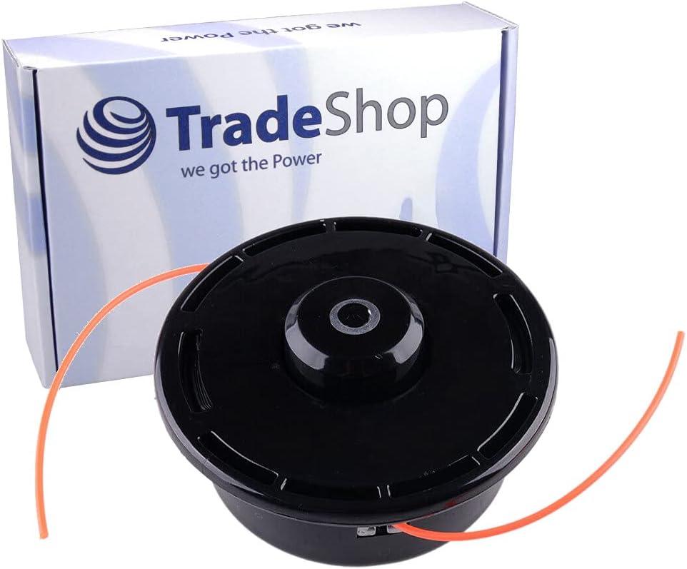 Trade-Shop Trimmerkopf Fadenkopf M/ähkopf Spule f/ür Honda GX25 GX35 UMK422 UMK431 UMR431 UMT431 ersetzt 06725-VJ5-305 72560-VL1-631 72560-VL2-632